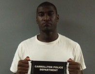 The mugshot of Blackmon after his first arrest